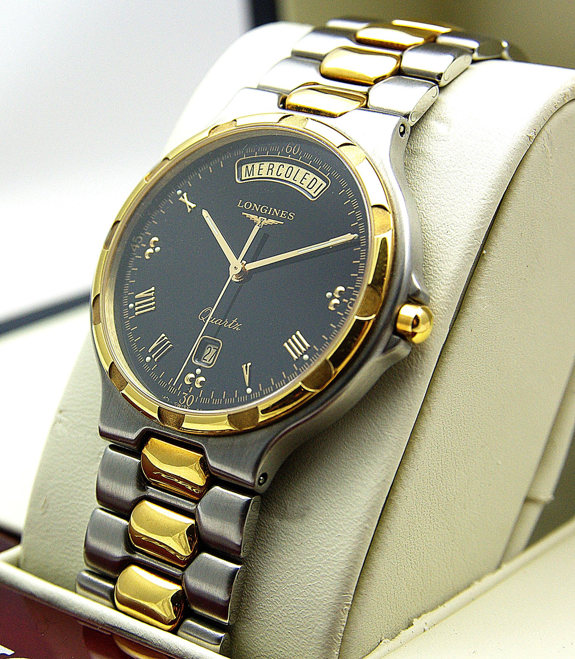 orologio longines oro