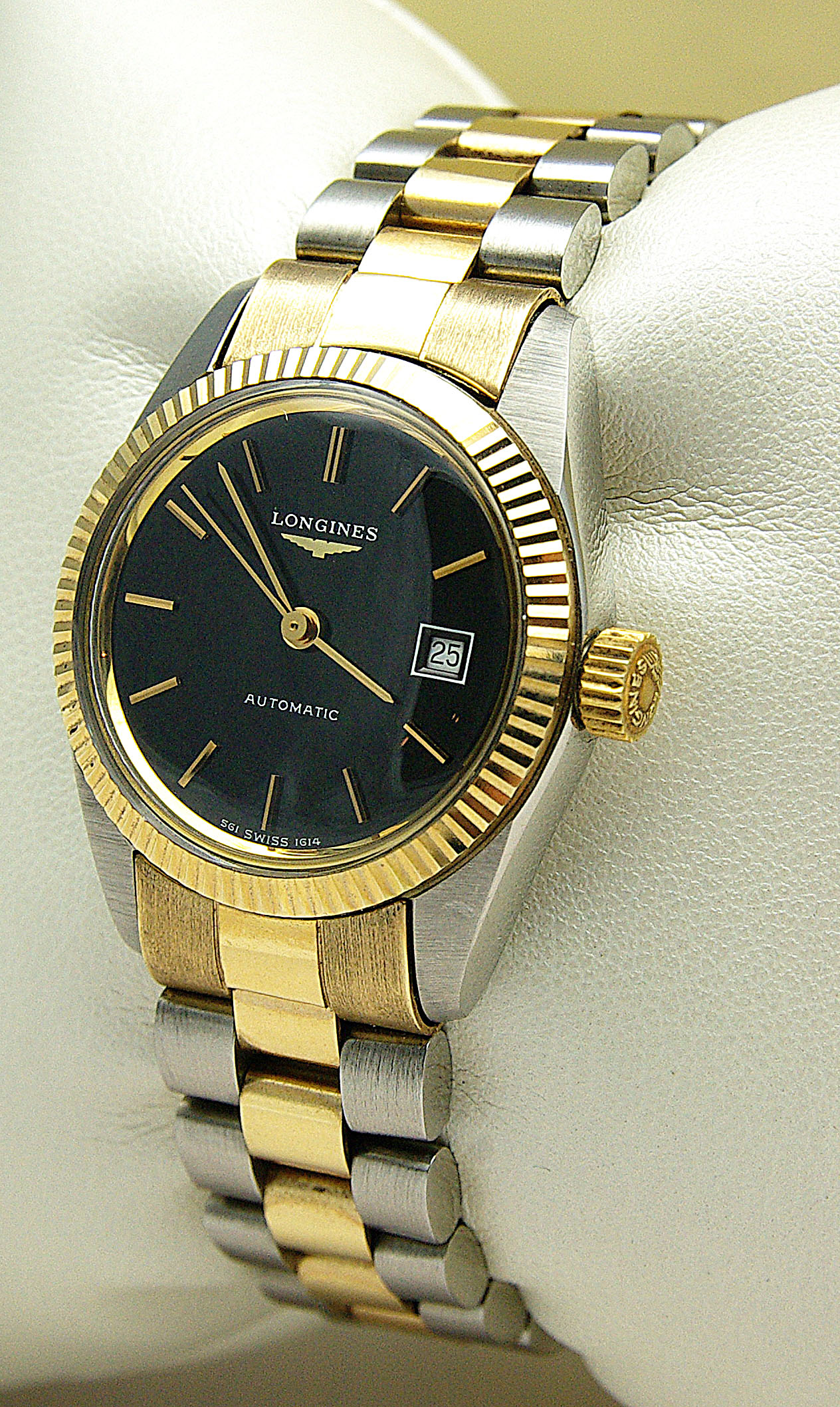 orologio donna acciaio e oro